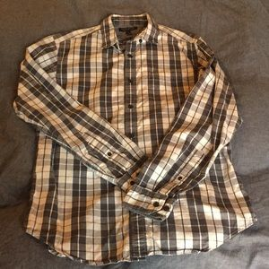 Slim Fit Luxe Flannel Long Sleeve Button Down